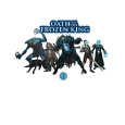 A King and His Court (Oath of the Frozen King) T-Shirt