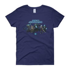 A King and His Court (Oath of the Frozen King) Women's T-Shirt