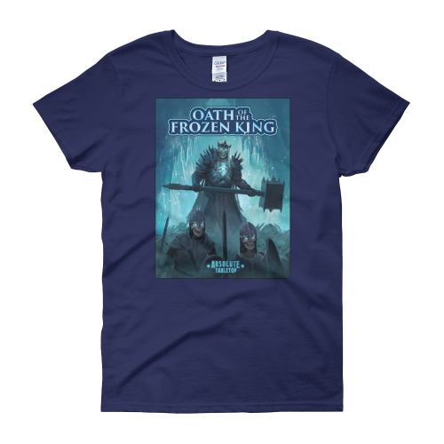 A King and His Sentries (Oath of the Frozen King) Women's T-Shirt