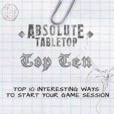 Top 10 Ways to Start Your Game Session [Free PDF]