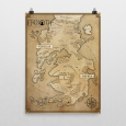 Erenoth Map Poster