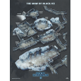 Maw of Black Ice – Isometric Map Poster (Oath of the Frozen King)