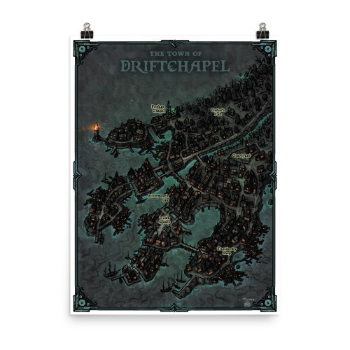 Town of Driftchapel Poster