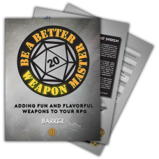 Be a Better Weapon Master [PDF]