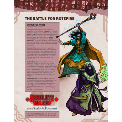 The Battle for Rotspire – Free RPG Day 2018 Encounter
